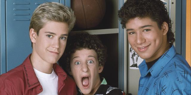 Zack Morris, AC Slater and Screech