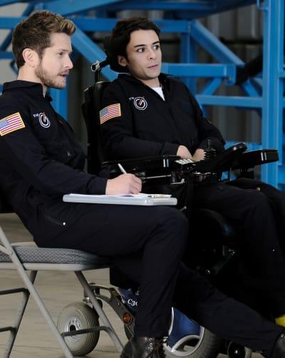 Defying Gravity - Tall  - The Resident Season 3 Episode 11