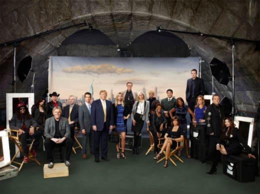 The Celebrity Apprentice Cast