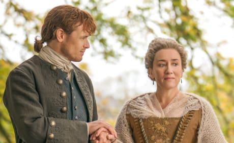 Jamie and Auntie Jacosta - Outlander Season 4 Episode 2