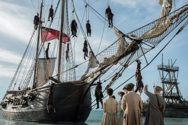 Nassau Beach - Black Sails Season 4 Episode 2