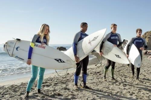 Preparing to Surf