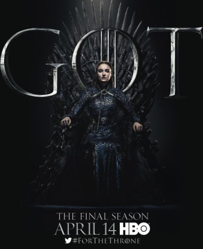 Sansa on the Throne - Game of Thrones
