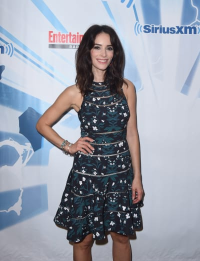 Abigail Spencer Attends SiriusXM Event