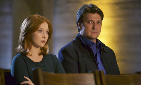 Daughter and Dad - Castle Season 8 Episode 4