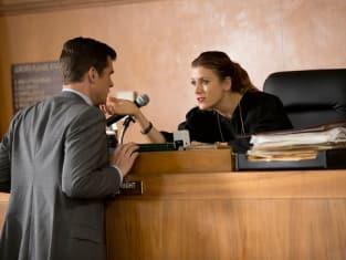 Kate Walsh as the Bad Judge