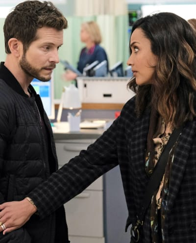 Nic's Support - tall - The Resident Season 4 Episode 8