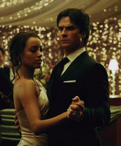 Bonnie & Damon on The Vampire Diaries