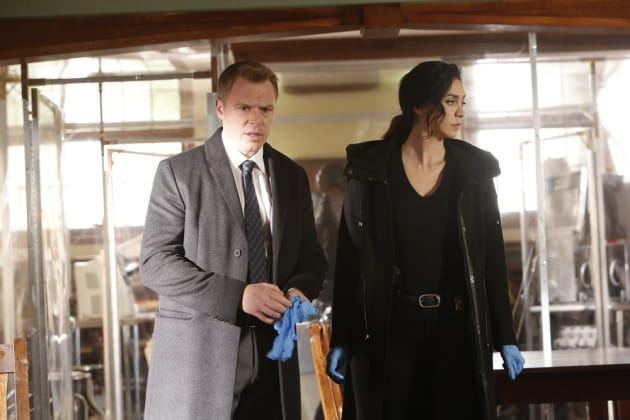 Samar and Ressler are ready to clean up - The Blacklist Season 4 Episode 12