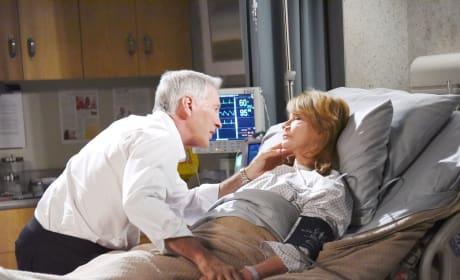 John Waits At Marlena' Bedside - Days of Our Lives