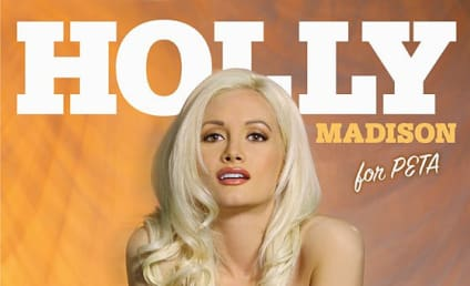 Holly Madison: Nude for PETA