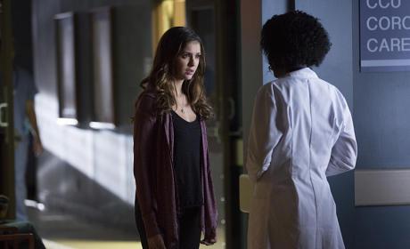 Elena at the Hospital - The Vampire Diaries Season 6 Episode 10