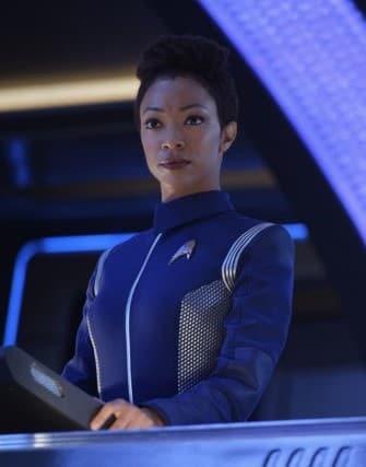 Burnham at Her Station - Star Trek: Discovery Season 2 Episode 2