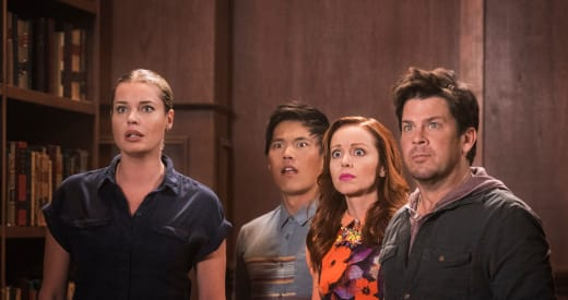 In Shock - The Librarians Season 4 Episode 10
