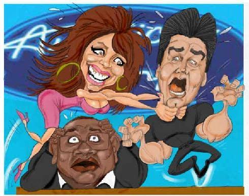 American Idol Cartoons