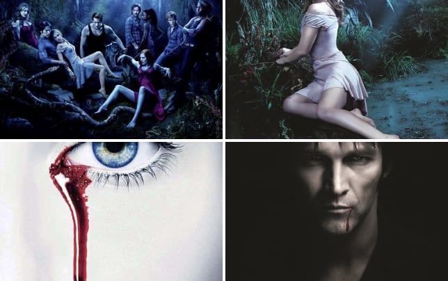 True blood cast poster