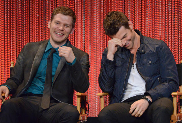 Joseph Morgan and Daniel Gillies at PaleyFest