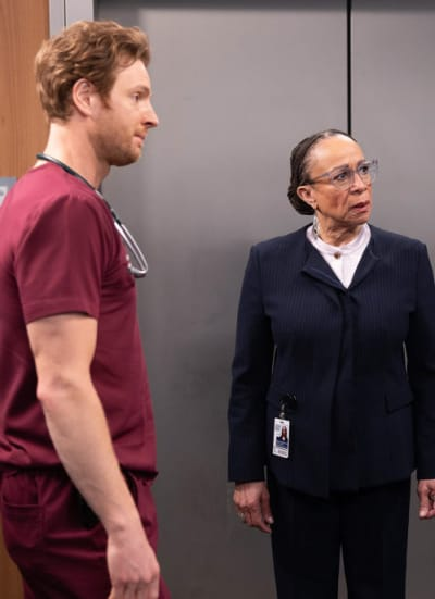 Confronting Will - Chicago Med Season 6 Episode 12