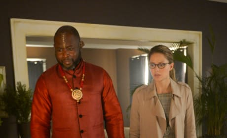 Missing Amulet - Supergirl Season 4 Episode 5