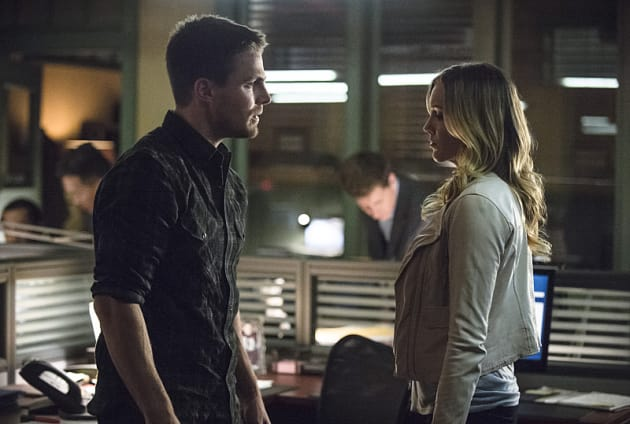 Meeting of the Minds - Arrow Season 3 Episode 19