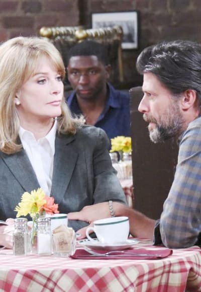 Marlena and Her Son - Days of Our Lives
