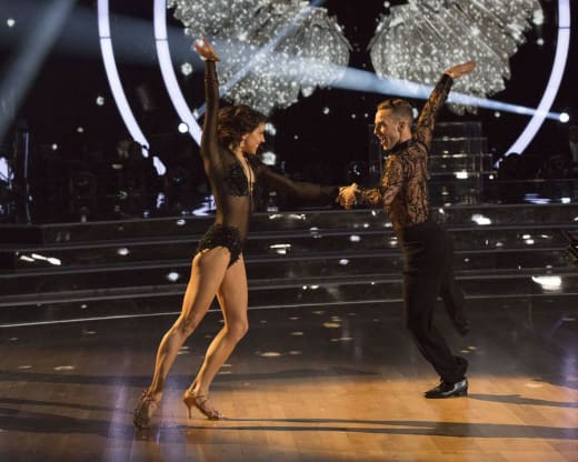 Adam Rippon and Jenna Johnson - Dancing With the Stars: Athletes Season 26 Episode 1