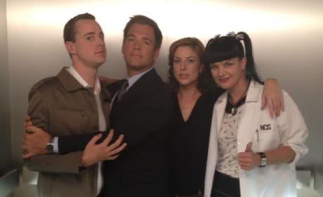 Diane Neal, NCIS Cast Set Photo