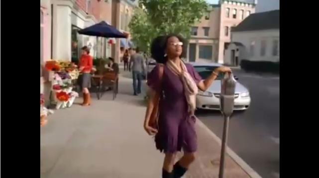 Jerrika Hinton in Hanes Commercial
