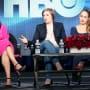 Lena Dunham at the TCAs