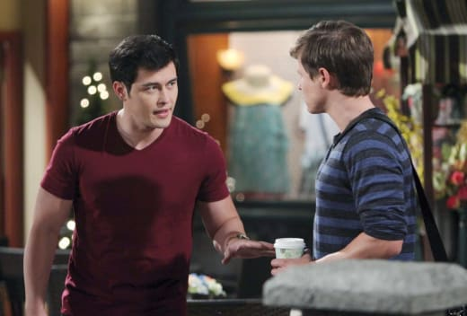 Paul Finds Will - Days of Our Lives