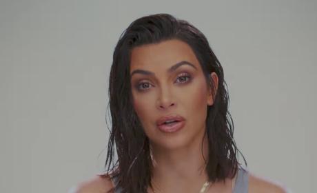 Kim on E! - Keeping Up with the Kardashians