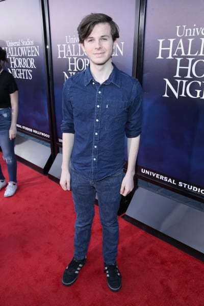 Chandler Riggs Attends Event