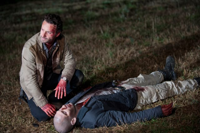 Rick Is Forced To Kill Shane