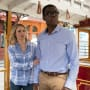 Eleanor and Chidi - The Good Place Season 2 Episode 6