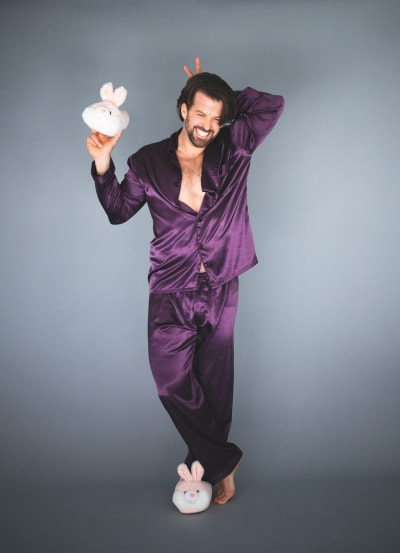 Johnny Bananas in Purple