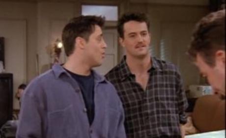 Joey, Chandler and Richard