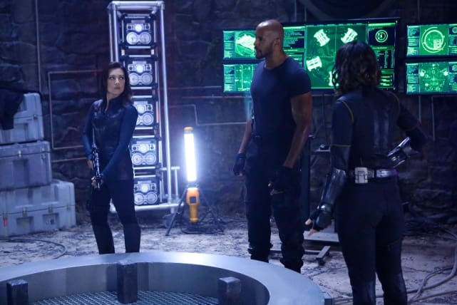 Storming the castle agents of shield
