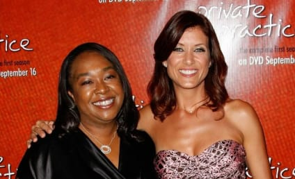 Kate Walsh and Shonda Rhimes Hang Out