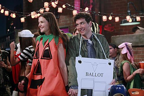 Katie Holmes as Slutty Pumpkin