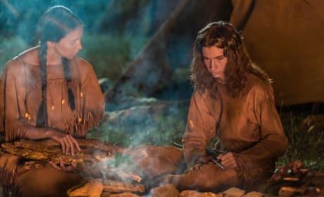 Eli and Prairie Flower - The Son Season 1 Episode 7