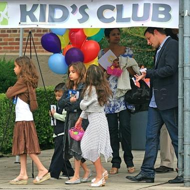 Justin Chambers and Kids!