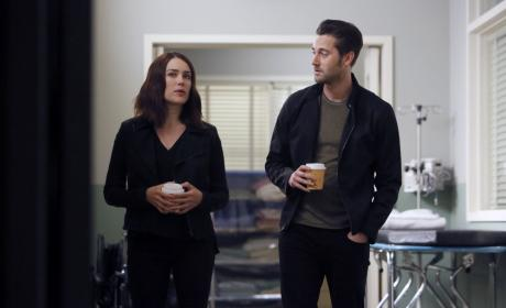 Tom and Liz grab a cup of coffee - The Blacklist Season 4 Episode 7