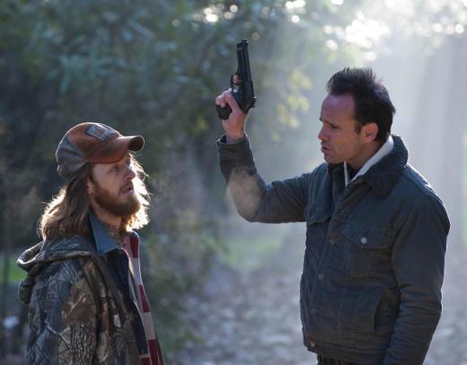 Boyd Intimidates a Lackey