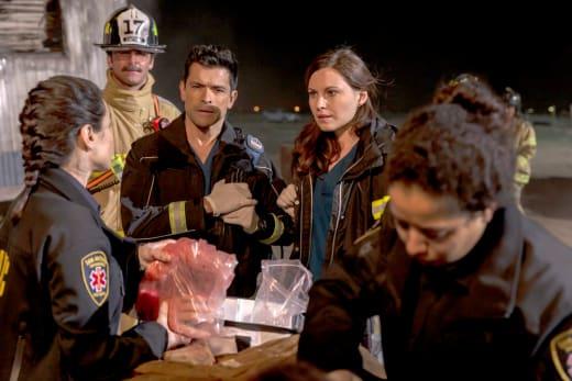 A Hand - The Night Shift Season 4 Episode 3