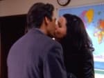Lorelai and Max Kiss