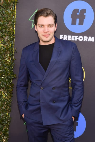 Dominic Sherwood Attends Freeform Summit