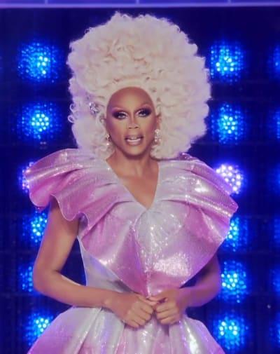 RuPaul Runway Look - Tall - RuPaul's Drag Race Season 13 Episode 1
