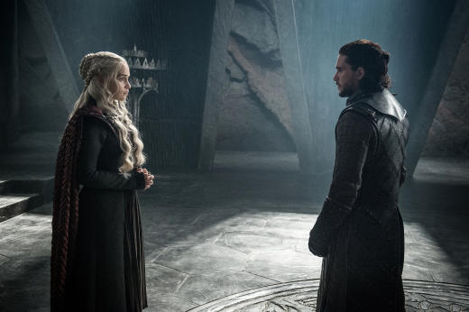 Jon Meets Daenerys - Game of Thrones Season 7 Episode 3