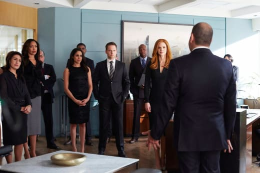 Louis Has the Room - Suits Season 4 Episode 16
