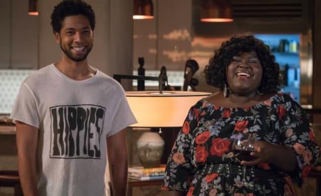 Jamal and Becky Smile - Empire Season 4 Episode 2